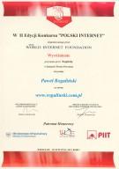 Polski Internet 2012, Paweł Rogaliński